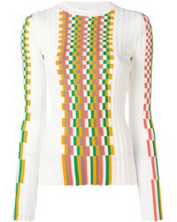 Loewe Облегающий Топ - Многоцветный