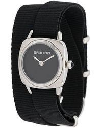 Briston Clubmaster Wrap Watch - Black