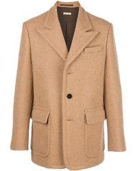 Marni シングルコート - ブラウン