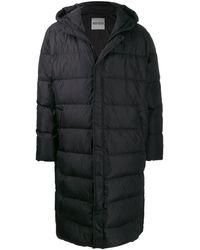 KENZO オーバーサイズ パデッドコート - ブラック
