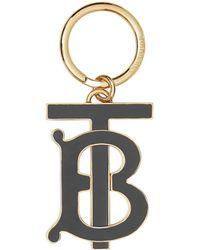 Burberry Брелок С Монограммой - Черный