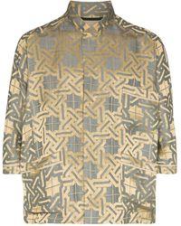 Haider Ackermann Pyjama Style Amiral Shirt - Metallic