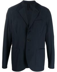 Harris Wharf London テーラードジャケット - ブルー
