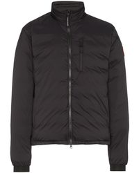 Canada Goose Lodge Quilted Shell Jacket - Black