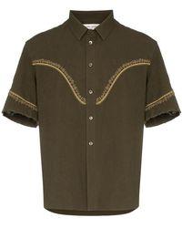 20c4c440d64 Men's Saint Laurent Shirts - Lyst