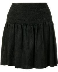 Diesel Black Gold - Flared Mini Skirt - Lyst