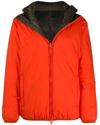Aspesi Reversible Puffer Jacket - Orange
