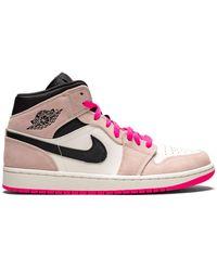Nike Air 1 Mid Se Crimson Tint/hyper Pink