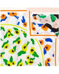 Christian Wijnants Floral Embroidered Scarf - Multicolor