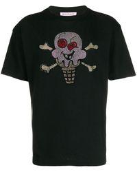 Palm Angels - Skull Ice Cream Tシャツ - Lyst