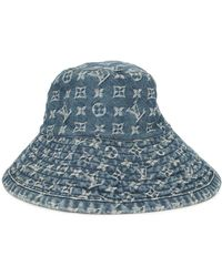Louis Vuitton Pre-owned Monogram Shapo Bucket Hat - Blue