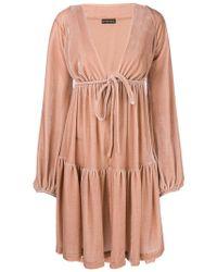 Plein Sud - Tiered V-neck Dress - Lyst