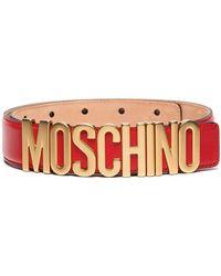 Moschino Ремень С Логотипом - Красный