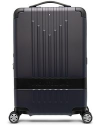 Montblanc ロゴ スーツケース - ブルー