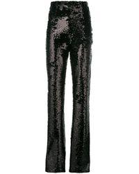 16Arlington High-waisted Sequin Pants - Black