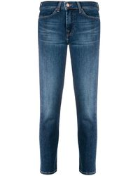 7 For All Mankind - クロップド スリムジーンズ - Lyst