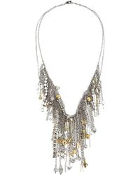 Vera Wang - Charm Necklace - Lyst