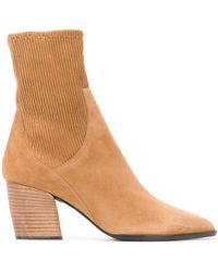 Pierre Hardy Ankle Sock Boots - Brown