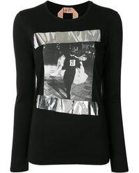 N°21 - プリント ロングtシャツ - Lyst