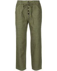Alex Mill Pantalon Ambrose à taille à lien de resserrage - Vert