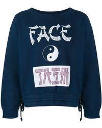 Facetasm - Yin-yang Print Sweatshirt - Lyst