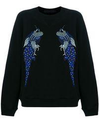 Proenza Schouler - Re Edition Embroidered Sweatshirt - Lyst