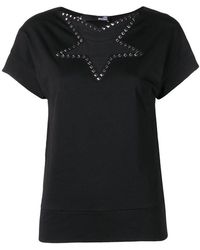 Love Moschino - Star Studded T-shirt - Lyst