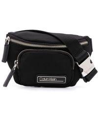 Calvin Klein ロゴ ベルトバッグ - ブラック