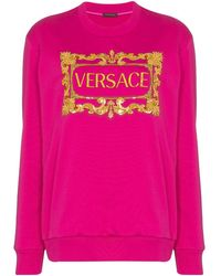 Versace - バロックロゴ スウェットシャツ - Lyst