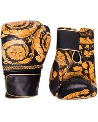 Versace Боксерские Перчатки С Принтом Baroque - Многоцветный