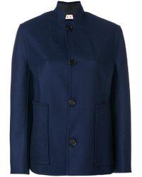 Marni - Mandarin Collar Jacket - Lyst