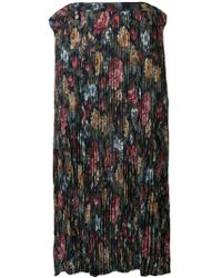 Junya Watanabe - Floral Crepe Long Skirt - Lyst