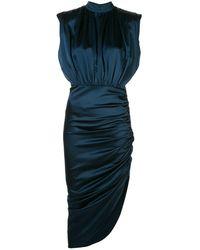 Veronica Beard ドレープドレス - ブルー