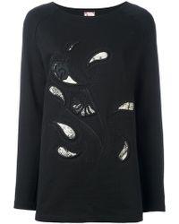 Antonio Marras - Embroidered Paisley Sweatshirt - Lyst