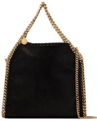 Stella McCartney - Black Polyester Shoulder Bag - Lyst