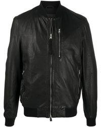 AllSaints ボンバージャケット - ブラック