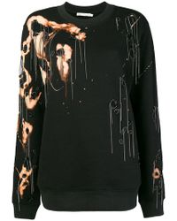Amen - Destroyed Effect Sweatshirt - Lyst