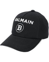 Balmain Бейсболка С Логотипом - Черный