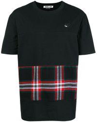 McQ - Checked Printe T-shirt - Lyst