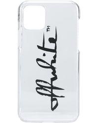 Off-White c/o Virgil Abloh Logo-print Iphone 11 Pro - White