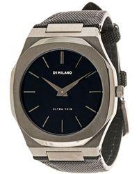 D1 Milano Наручные Часы Ultra Thin - Черный