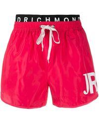 John Richmond Judit トランクス水着 - ピンク