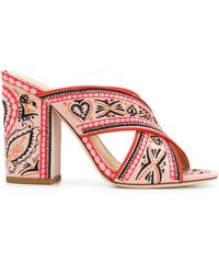 Ash - Printed Open-toe Sandals - Lyst