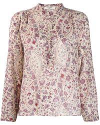Étoile Isabel Marant Maria Printed Shirt - Pink