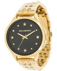 Karl Lagerfeld Karo Watch - Metallic