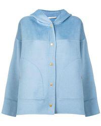 ODEEH - Hooded Jacket - Lyst