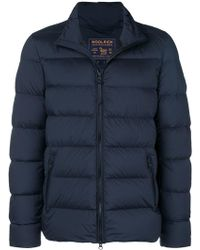 Woolrich - Quilted Padded Jacket - Lyst
