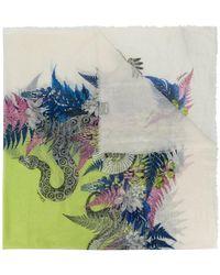 Just Cavalli   Snake Print Scarf   Lyst
