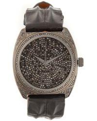Christian Koban 'dom' Diamond Watch - Zwart