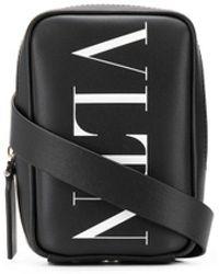 Valentino Garavani Vltn ロゴ メッセンジャーバッグ - ブラック